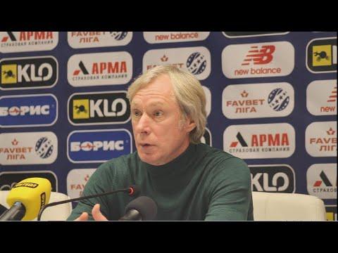 Прес-конференція Олексія Михайличенка, після матчу «Динамо» - «Колос»