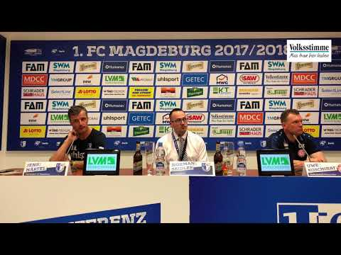 FCM: Pressekonferenz nach Sieg gegen Köln