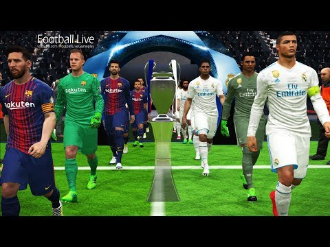 UEFA Champions League [UCL] Final | Real Madrid vs FC Barcelona | PES 2017 Gameplay PC