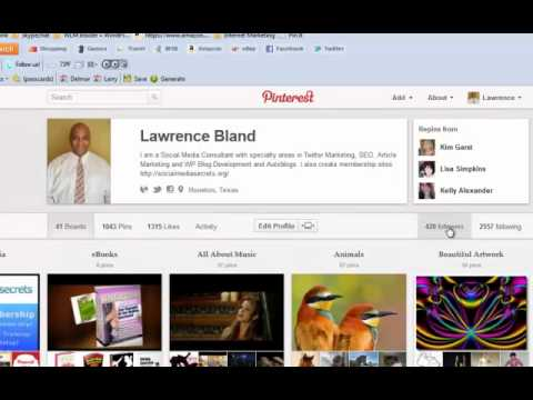 How To Follow People Back In Pinterest – L1 V12