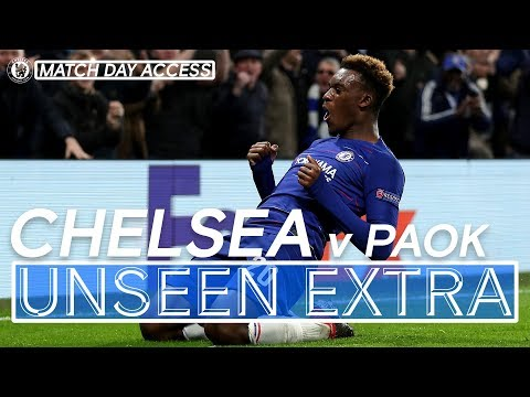 Video: Tunnel Access: Hudson-Odoi's First Chelsea Goal Guarantees Top Spot! | Unseen Extra