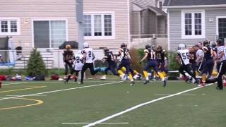 Week 2 - Bantam Warriors 18 vs Raiders 7