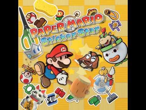 Paper Mario Sticker Star OST - Chomp Ruins
