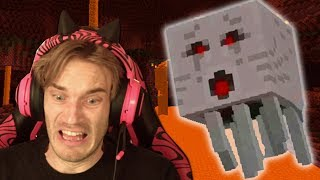 Minecraft is scary!!! by PewDiePie