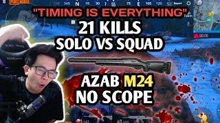 Download Video 21 KILLS SOLO VS SQUAD ! CARA MEMANFAATKAN WAKTU PADA SAAT PUSH & BERTAHAN - PUBG MOBILE INDONESIA MP3 3GP MP4