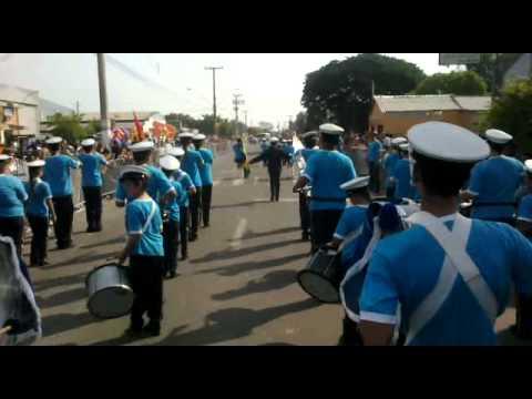 DESFILE DA BANDA SENADOR SALGADO FILHO GRAVATAI 07/09/2012.