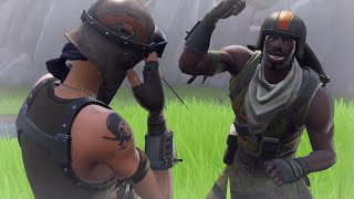 I Challenged an Aerial Assault Trooper for his account... (2nd Rarest Skin in Fortnite)