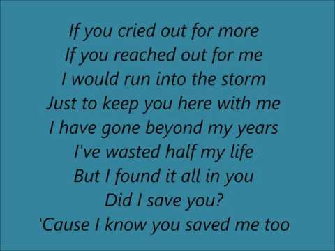 Stone Sour -  Song #3 (Acoustic) Lyrics