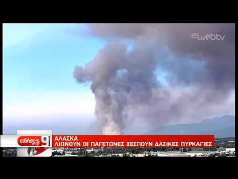 Καύσωνας με 32 βαθμούς στην Αλάσκα | 09/07/2019 | ΕΡΤ