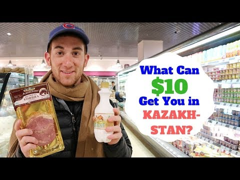 What Can $10 Get You in KAZAKHSTAN?