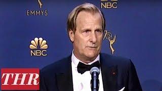 Jeff Daniels: 2018 Emmy Awards Winner Backstage Interview   THR