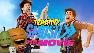 Annoying Orange   Smosh The Movie Trailer Trashed
