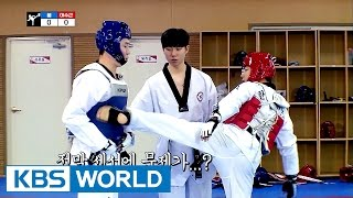 Video Soo-guen VS Boom Taekwondo battle! It's not over until it's over [Guesthouse Daughters / 2017.05.16] MP3, 3GP, MP4, WEBM, AVI, FLV Agustus 2018