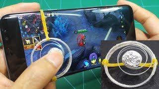 Hôm nay chúng ta sẽ cùng Chế JoyStick Nút Điều Khiển Chơi Game Mobile từ Chai NhựaNó có thể chơi được tất cả các game trên smartphone yêu cầu phím di chuyển tròn. Chơi game mượt hơn, đỡ rát tayKênh Sáng Tạo .COM Chúc các bạn thành công !!!