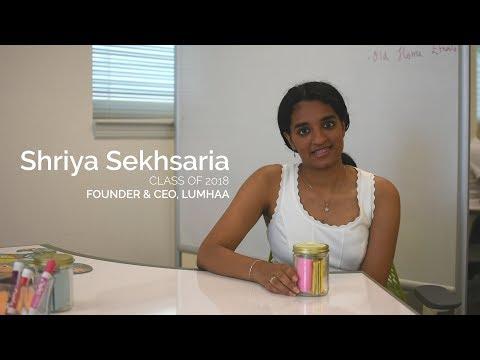 Weekly Profile Wednesday: Shriya Sekhsaria '18