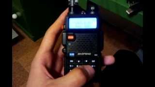 Just a simple video on how to program repeaters and other frequencies using the radio only and a computer with programming cable.**This is the site with drivers and software**   http://uv-5r.com/