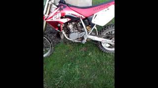 4. 2006 Honda CR85r for sale 1300 obo