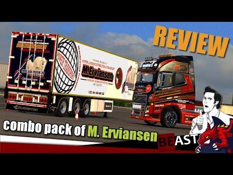 Mod Combo Pack of M. Erviansen 1.28.x