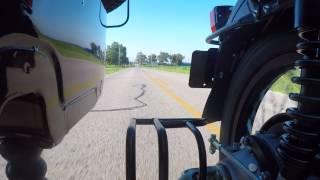 7. 2017 Ural Patrol 2WD Sidecar Motorcycle