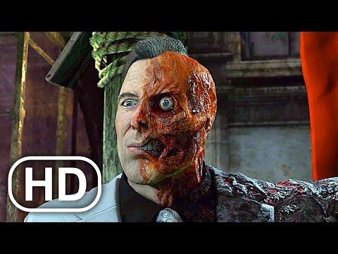 BATMAN Vs TWO FACE Fight Scene Cinematic - Batman Arkham City
