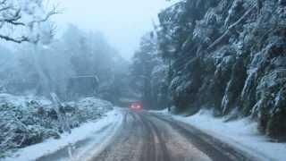 Neve em Gramado, RS - 27/08/20013