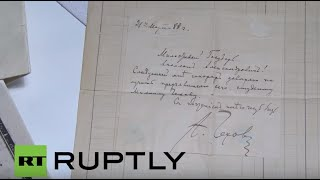 Chekhov Russia  City new picture : Russia: Chekhov autograph worth $30,000 goes under the hammer in Moscow