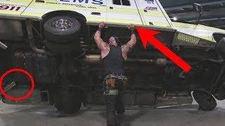 Video How did A WWE Wrestler Pick Up a 3 Ton Ambulance? WWE Secrets exposed! MP3, 3GP, MP4, WEBM, AVI, FLV Oktober 2018
