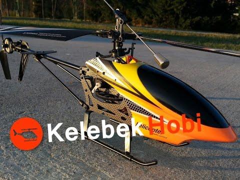 RC Uzaktan Kumandalı 4 Kanallı Tek Rotorlu Model Helikopter