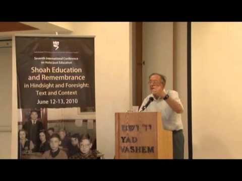Lecture by Professor Yehuda Bauer, Academic Advisor, Yad Vashem [43:33 min]