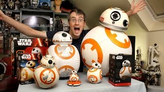 Star Wars BB-8 Unboxing Review & Comparison | Sphero, Bladez, Hasbro | James Bruton