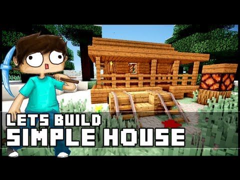 Minecraft Walkthrough Lets Build Small Modern House 18x18 Lot