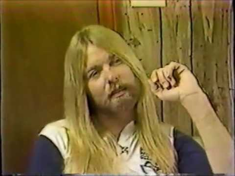 1982 Gregg Allman interview (for his newly formed Gregg Allman Band) talking about Dickey Betts