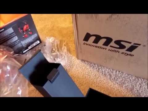 MSI GS60 Ghost Pro Skylake Unboxing