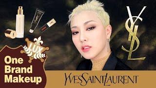 럭셔리 원브랜드 메이크업 : 입생로랑 YSL one brand makeup | SSIN
