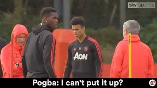 Video WHAT MOURINHO ACTUALLY SAID TO POGBA (TRANSCRIPT) MP3, 3GP, MP4, WEBM, AVI, FLV Oktober 2018