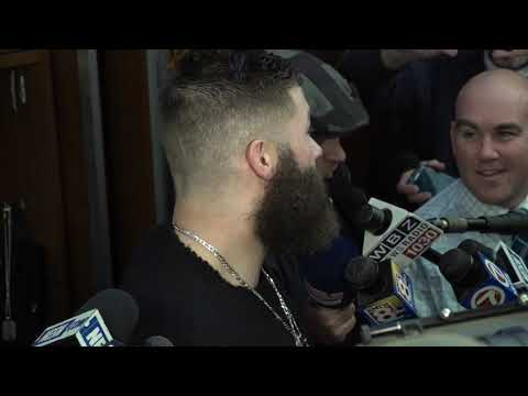 Video: Julian Edelman reacts to historical performance in playoff win