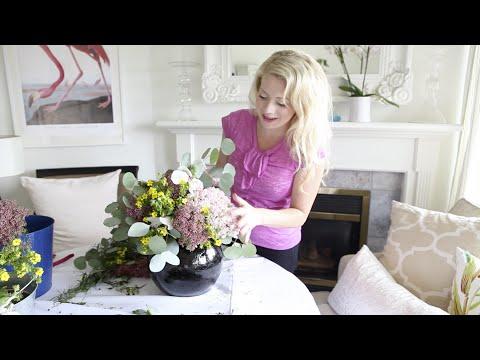 How to:  A Fresh Wild Flower Arrangement