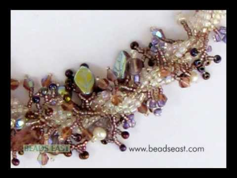 Spiral weave basics for beading Beads East