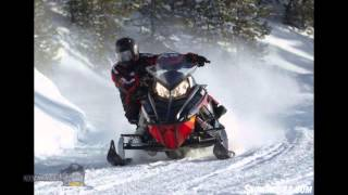 8. Snowmobiling on tracks for hunting and fishing 2015 Polaris 800 Indy SP