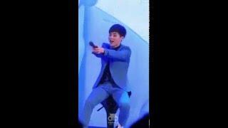 160401 EXO SECRET NIGHT LOTTE WORLD / SING FOR YOU - XIUMIN(시우민) 세로캠