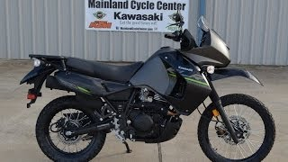 5. $6,599: 2014 Kawasaki KLR650 New Edition Metallic Gray  Overview and Review