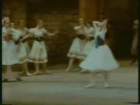 Nina Ananiashvili in Giselle 1986