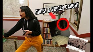 STAYING THE NIGHT IN A HAUNTED HOTEL! SPIRITS CAUGHT ON CAMERA by Simplynessa15