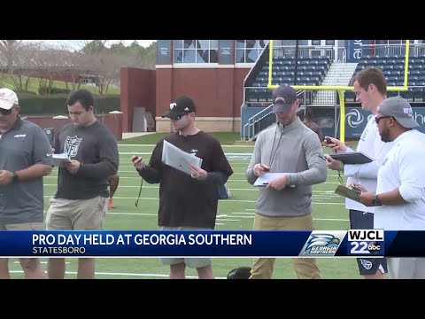 Georgia Southern holds annual Pro Day