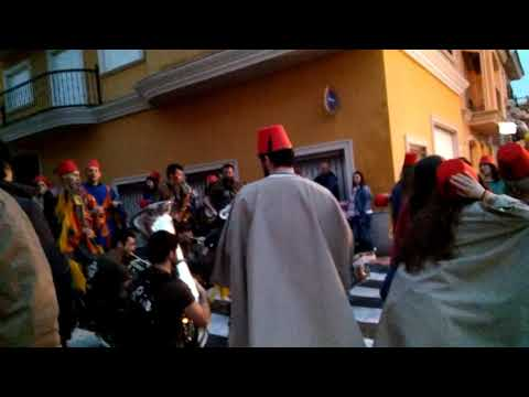 Cabalgata Fallas 2018 Massamagrell (Valencia)