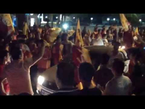 Galatasaray 2015 yılı Milas şampiyonluk kutlamaları
