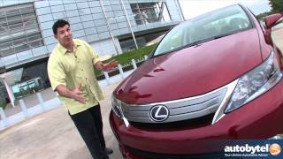 2012 Lexus HS 250h Road Test&Hybrid Luxury Car Review
