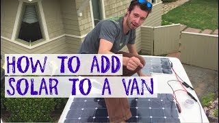 How to add Solar Power to an old RV / Camper van by Nate Murphy