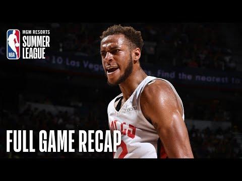 Video: BULLS vs LAKERS | Gafford Puts Up 21 PTS & 10 Boards | MGM Resorts NBA Summer League