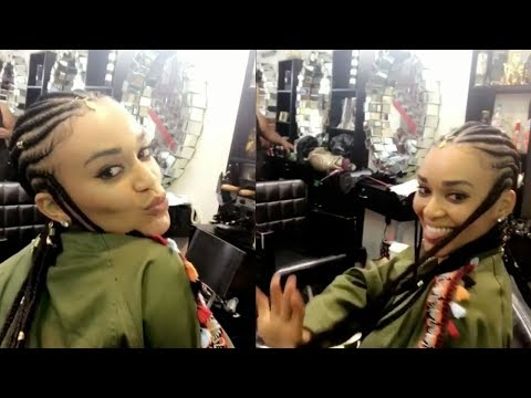 Pearl Thusi's New Hairstyle!  All Things Thusi